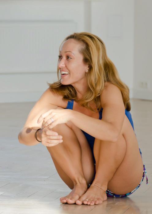 Kino MacGregor w Astanga Yoga Studio